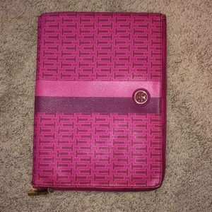 Tory Burch pink IPad case
